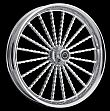 CHROME HARLEY TWISTA WHEEL ALL SIZES AVAILABLE